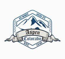 Aspen Ski Resort Colorado One Piece - Long Sleeve