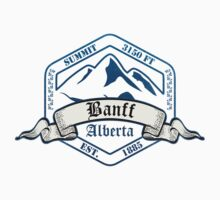 Banff Ski Resort Alberta by CarbonClothing