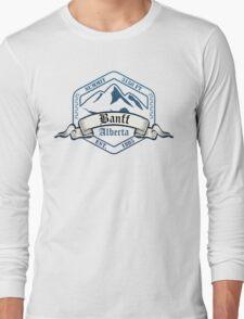 Banff Ski Resort Alberta Long Sleeve T-Shirt