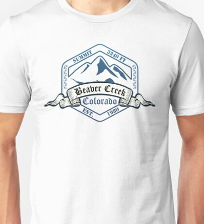 Beaver Creek Ski Resort Colorado Unisex T-Shirt