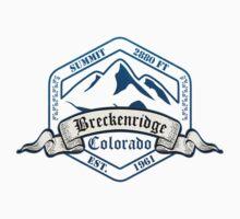 Breckenridge Ski Resort Colorado Kids Tee