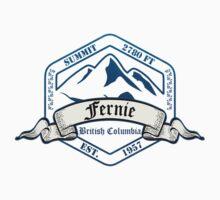 Fernie Ski Resort British Columbia Baby Tee