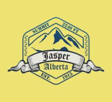 Jasper Ski Resort Alberta Kids Tee