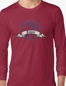 Jasper Ski Resort Alberta Long Sleeve T-Shirt