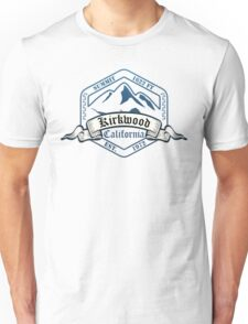 Kirkwood Ski Resort California Unisex T-Shirt