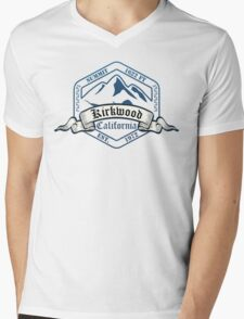 Kirkwood Ski Resort California Mens V-Neck T-Shirt