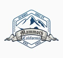 Mammoth Ski Resort California One Piece - Short Sleeve