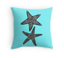 Stars Under the Sea Throw Pillow