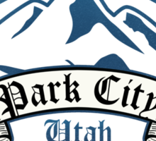 Park City Ski Resort Utah Sticker