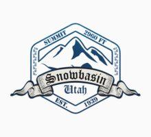 Snowbasin Ski Resort Utah One Piece - Short Sleeve