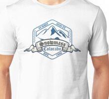 Snowmass Ski Resort Colorado Unisex T-Shirt