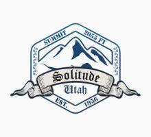 Solitude Ski Resort Utah One Piece - Short Sleeve