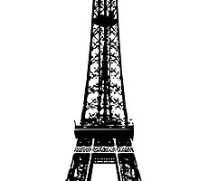 Eiffel Tower by pencreations