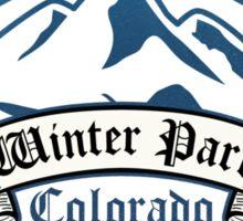Winter Park Ski Resort Colorado Sticker