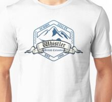 Whistler Ski Resort British Columbia Unisex T-Shirt
