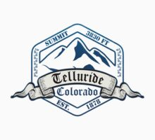 Telluride Ski Resort Colorado Baby Tee