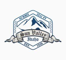 Sun Valley Ski Resort Idaho One Piece - Long Sleeve