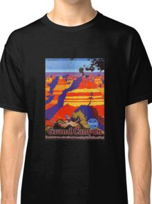 Vintage Travel Poster - Grand Canyon Classic T-Shirt