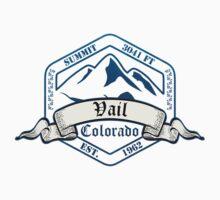 Vail Ski Resort Colorado Kids Tee