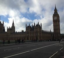 Houses of Parliament by JessicaJade