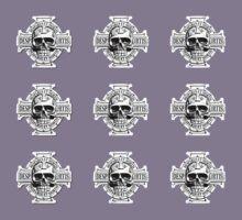 Warhammer 40k Chaos Marines Skull no. 4 Kids Tee
