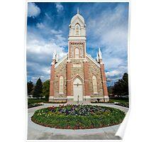 Box Elder Stake Tabernacle - Brigham City Poster