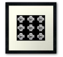Warhammer 40k Chaos Marines Skull no. 4 Framed Print