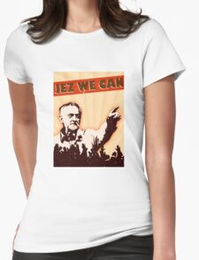 Jez We Can - Jeremy Corbyn Womens Fitted T-Shirt