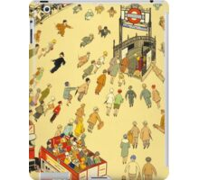 Lure of the Underground - Vintage London Poster iPad Case/Skin