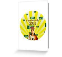 STEAM SUMMER SALE 2016 Greeting Card