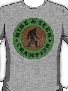 Distressed Hide And Seek Champion T-Shirt