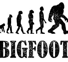 Distressed Bigfoot Evolution by kwg2200