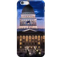 Utah Capitol Sunset - Salt Lake City iPhone Case/Skin