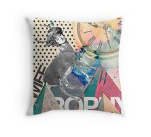 Trophy Wife Throw Pillow