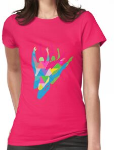Color Me Ballet Womens Fitted T-Shirt