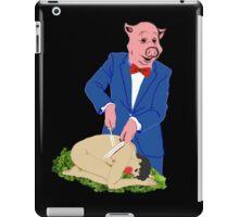 It's a Pig-Eat-Man World iPad Case/Skin