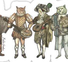 Felis Simha Rock Band Sticker