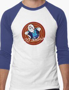 H2O Delirious 1930's Cartoon Character Men's Baseball ¾ T-Shirt