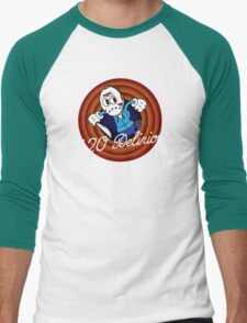 H2O Delirious 1930's Cartoon Character Men's Baseball ¾ T-Shirt