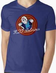 H2O Delirious 1930's Cartoon Character Mens V-Neck T-Shirt