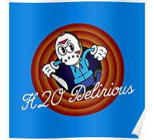 H2O Delirious 1930's Cartoon Character Poster