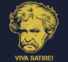 Viva Satire Mark Twain Shirt Kids Clothes