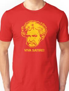 Viva Satire Mark Twain Shirt T-Shirt