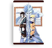Naruto, Haku, and Zabuza Canvas Print
