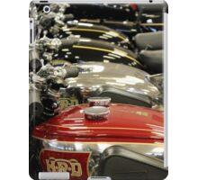 Petrol Tanks all in a row iPad Case/Skin