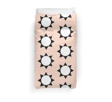 PEACH SUN Duvet Cover