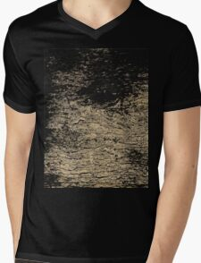 Rocky Wall Pattern Mens V-Neck T-Shirt