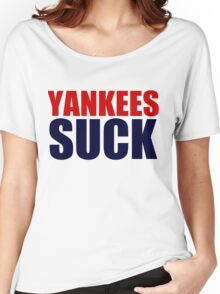 Boston Red Sox - YANKEES SUCK Women's Relaxed Fit T-Shirt
