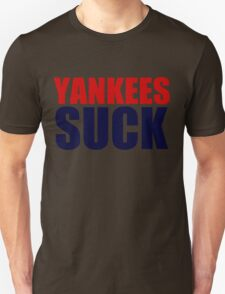 Boston Red Sox - YANKEES SUCK T-Shirt