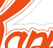 Kappa (Special K) Logo - Orange Sticker